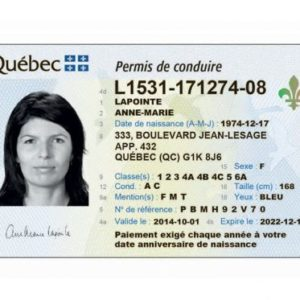 Buy Canadian drivers licence . A driving licence is an official record authorizing a citizen to manage one or more types of motorized vehicles