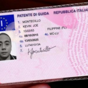 Buy Italian Drivers Licence.We produce both Real and Fake Id card and Driver's License. For the Real Id Cards and Driver's License,