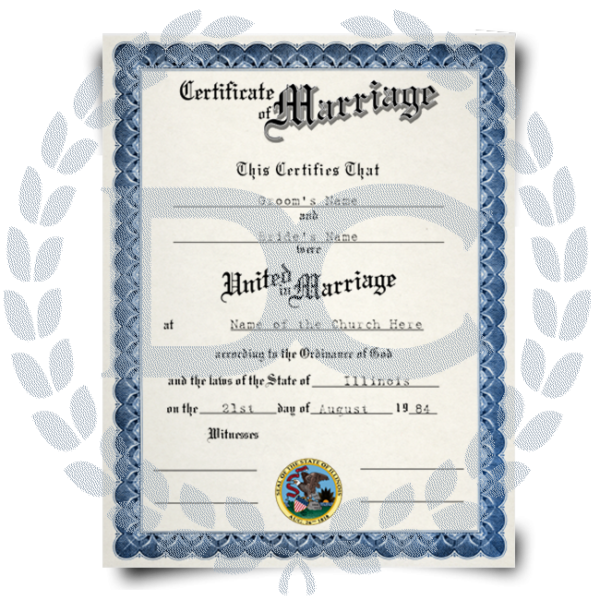 The marriage certificate is considered as a proof of legitimate marriage,Buy real and fake marriage certificate online