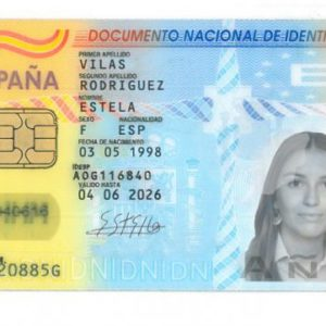 Buy Spanish ID card online.Buy best quality Spanish national ID card (DNI) online. Model 2021 year. Valid for 10 year